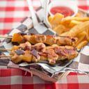 GRILLED CHICKEN & PINEAPPLE KABOB DINNER